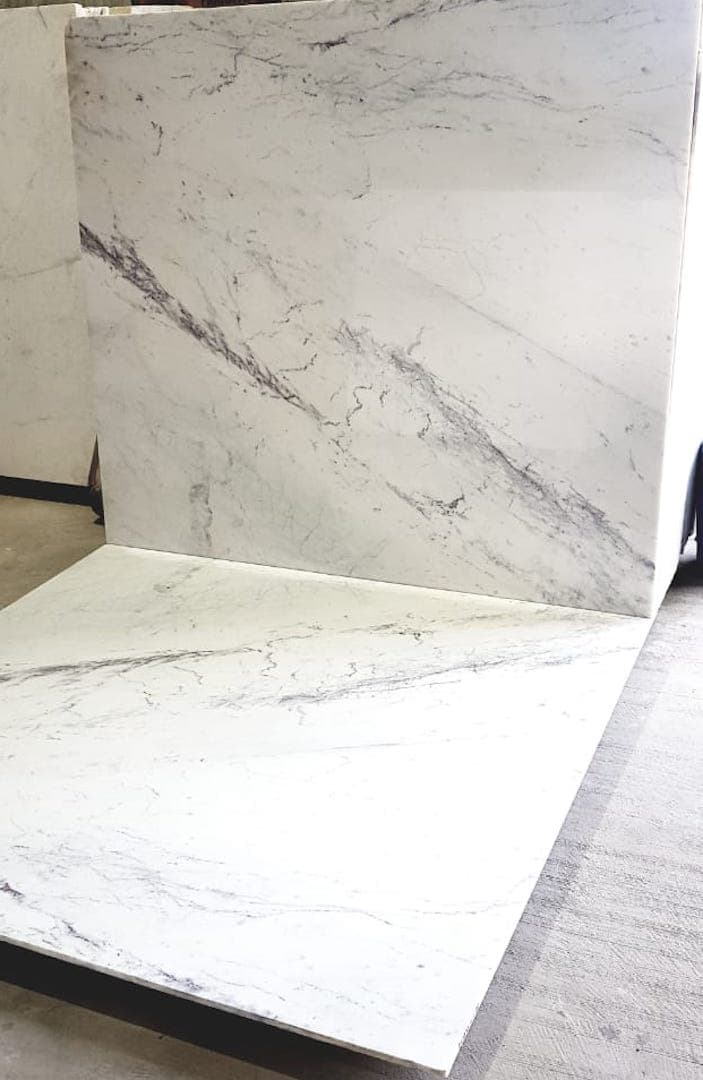 White Indian Statuario Marble – Galaxystone